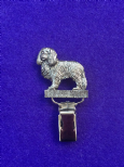 Dog Show Breed Ring Number Clip - Cavalier King Charles Spaniel - FULL BODY Silver or Gold Style